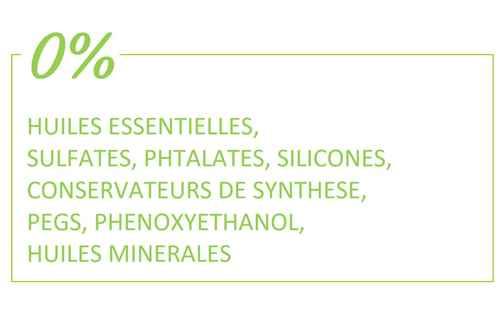 Savon saponifié à froid sans huiles essentielles, sans sulfates, sans phtalates. Sans silicones ni conservateurs de synthèses